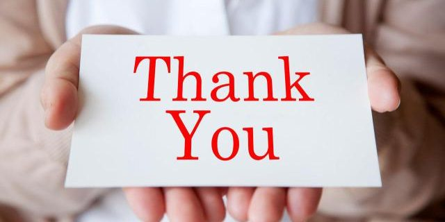 Thank You from Real Estate Solutions